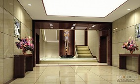 宾馆进门门厅设计