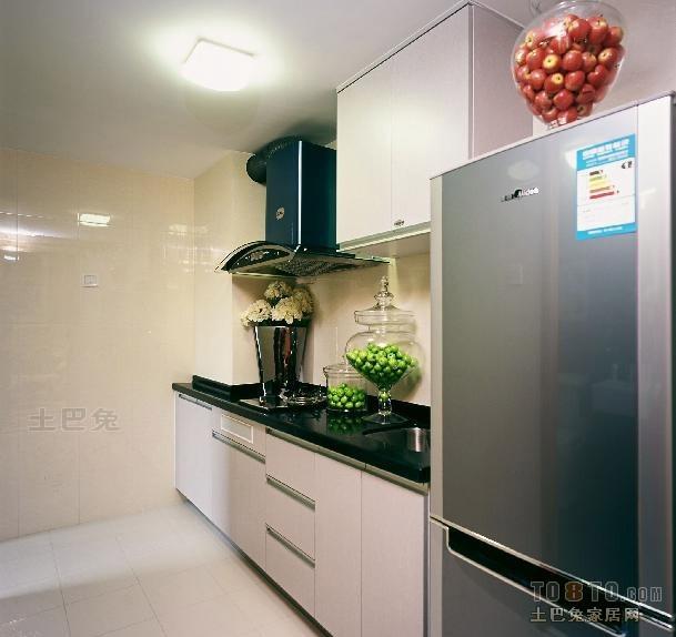 2018精选面积112平复式厨房混搭效果图片大全餐厅潮流混搭厨房设计图片赏析