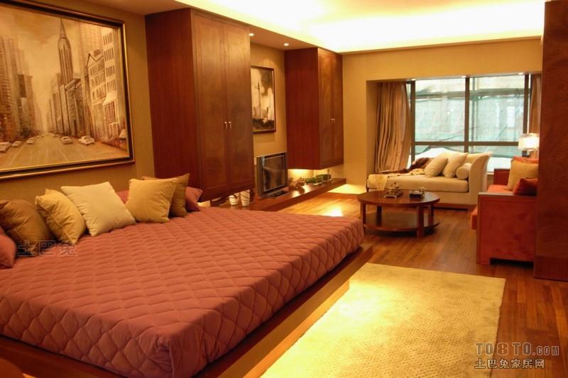 精美82平混搭复式卧室布置图卧室潮流混搭卧室设计图片赏析