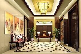 宾馆门厅效果图