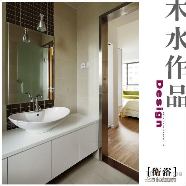 热门面积100平混搭三居卫生间效果图潮流混搭设计图片赏析