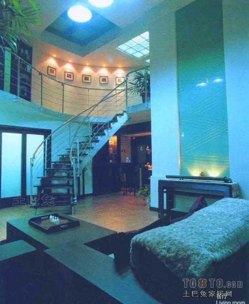 精美面积137平复式客厅混搭装饰图片大全客厅潮流混搭客厅设计图片赏析