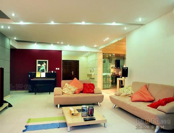 热门96.5平米3室客厅混搭欣赏图片客厅潮流混搭客厅设计图片赏析