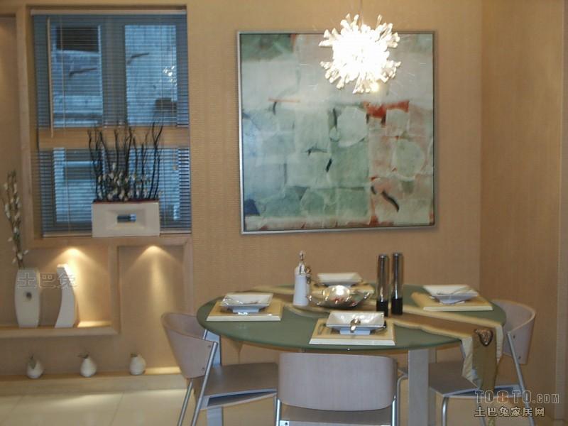精美大小85平混搭二居餐厅实景图厨房潮流混搭餐厅设计图片赏析