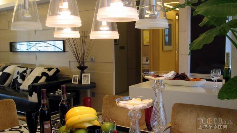 平米四居餐厅混搭装修设计效果图片欣赏厨房潮流混搭餐厅设计图片赏析