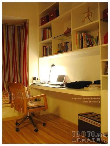 热门混搭二居书房欣赏图片大全功能区潮流混搭功能区设计图片赏析
