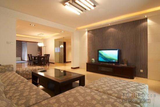 面积108平混搭三居客厅装饰图片欣赏客厅潮流混搭客厅设计图片赏析