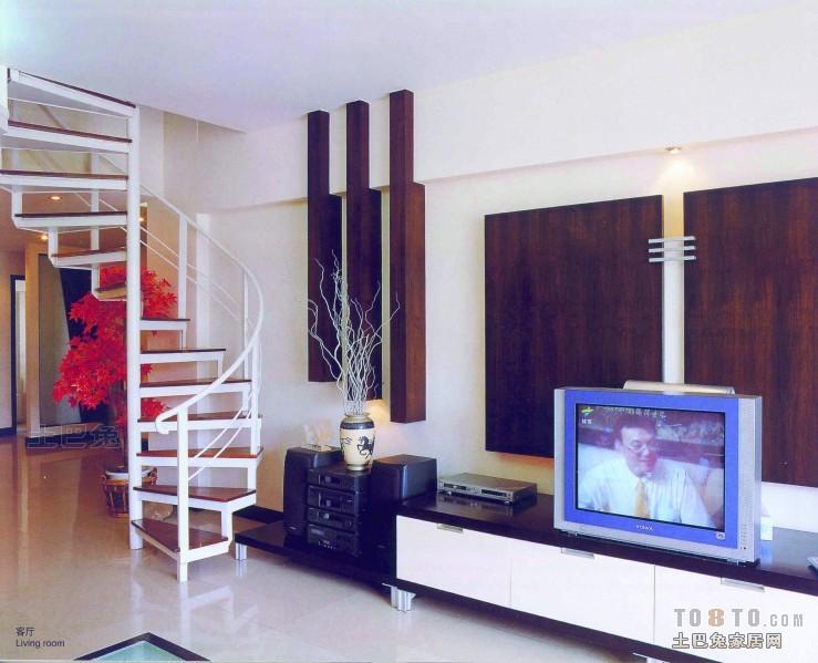 平米混搭复式客厅装修效果图片大全客厅潮流混搭客厅设计图片赏析