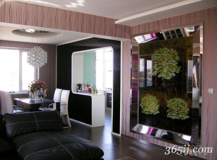 大小76平混搭二居客厅装修效果图客厅潮流混搭客厅设计图片赏析