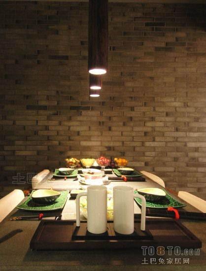 热门面积70平混搭二居餐厅装修设计效果图潮流混搭设计图片赏析