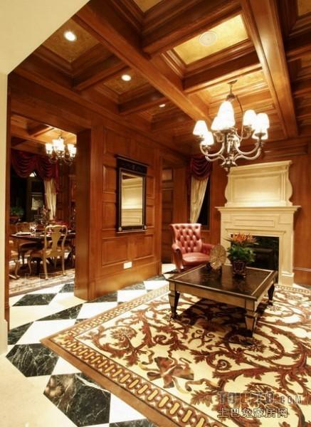 美式风格客厅客厅潮流混搭客厅设计图片赏析