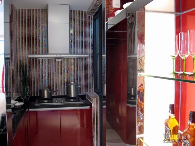 质朴55平混搭二居厨房实拍图餐厅潮流混搭厨房设计图片赏析