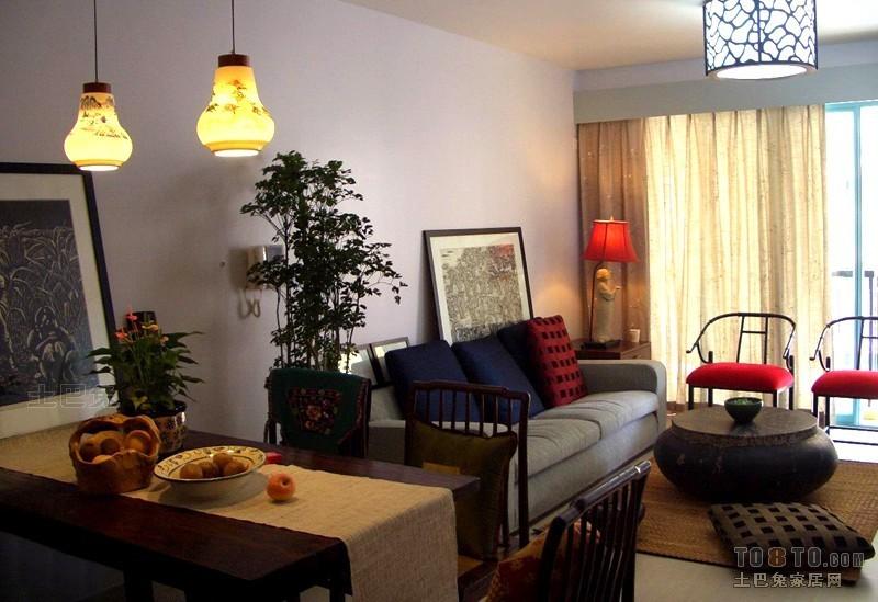 精美98平方三居餐厅混搭装修效果图厨房潮流混搭餐厅设计图片赏析