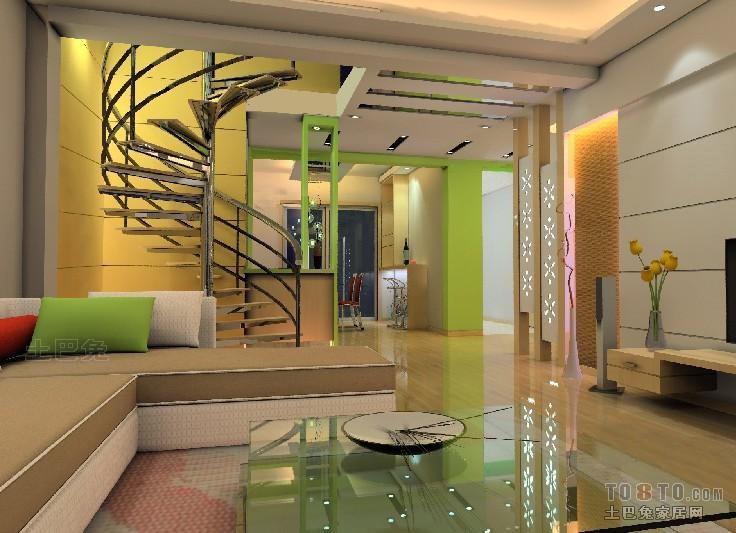 精美面积124平复式客厅混搭装修欣赏图片大全客厅潮流混搭客厅设计图片赏析