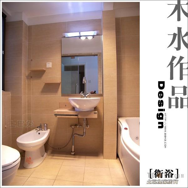 温馨88平混搭三居卫生间设计美图卫生间潮流混搭卫生间设计图片赏析