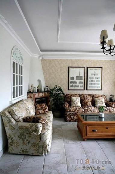 浪漫49平混搭复式客厅效果图客厅潮流混搭客厅设计图片赏析