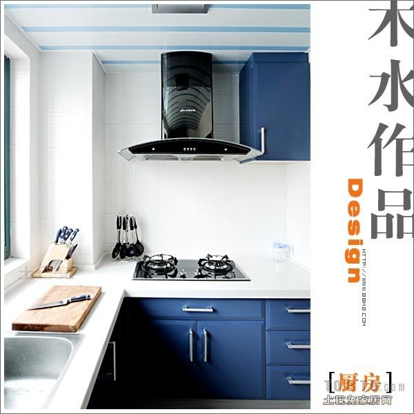 简洁117平混搭三居厨房装修效果图餐厅潮流混搭厨房设计图片赏析