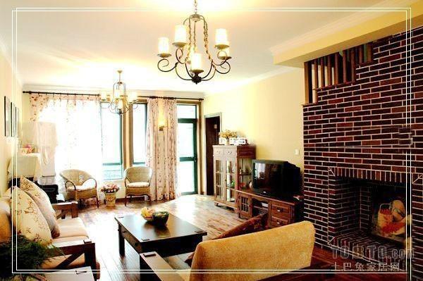 热门132平米混搭复式客厅装修效果图片欣赏客厅潮流混搭客厅设计图片赏析