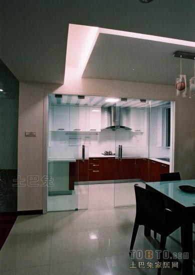 质朴54平混搭二居厨房效果图片大全餐厅潮流混搭厨房设计图片赏析
