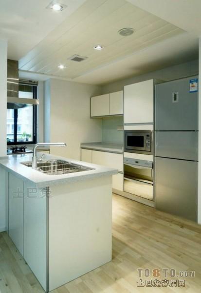精选面积79平混搭二居厨房设计效果图餐厅潮流混搭厨房设计图片赏析