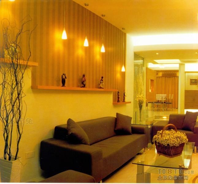 精选90平米三居客厅混搭实景图片客厅潮流混搭客厅设计图片赏析