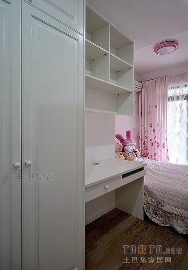 混搭粉色系列儿童房装修设计效果图卧室潮流混搭卧室设计图片赏析