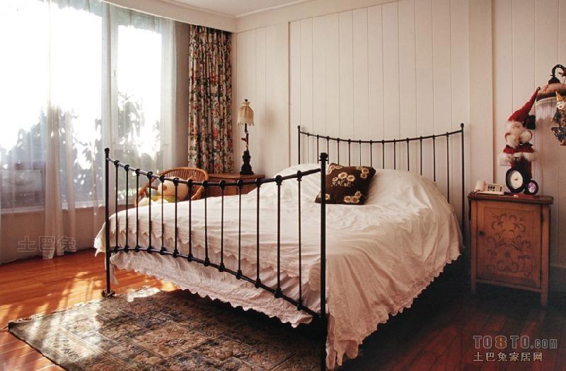 田园风格卧室卧室潮流混搭卧室设计图片赏析
