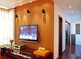 精美144平方四居客厅混搭装修实景图