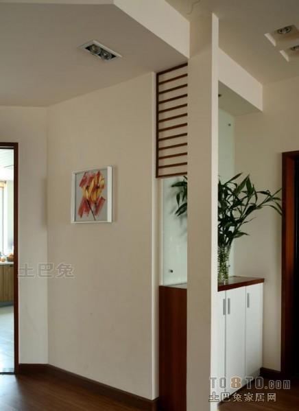热门混搭三居玄关装修欣赏图玄关潮流混搭玄关设计图片赏析