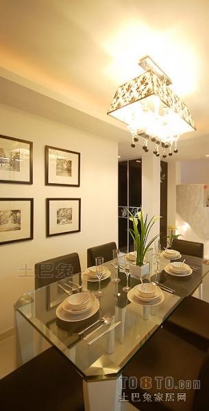 精美118平米混搭复式餐厅实景图厨房潮流混搭餐厅设计图片赏析