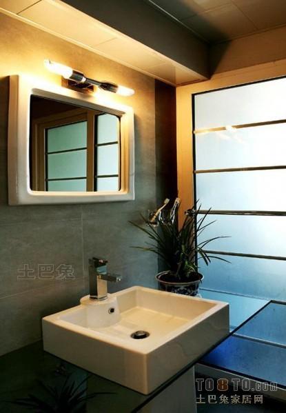 典雅109平混搭三居卫生间布置图卫生间潮流混搭卫生间设计图片赏析