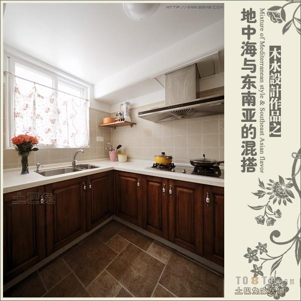 厨房3.jpg餐厅潮流混搭厨房设计图片赏析