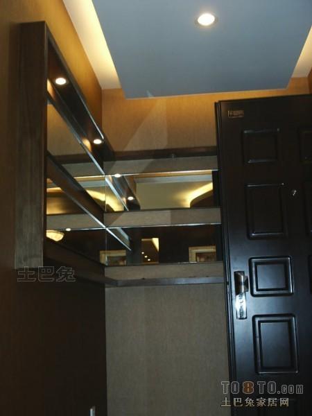 优雅116平混搭四居玄关装修案例玄关潮流混搭玄关设计图片赏析