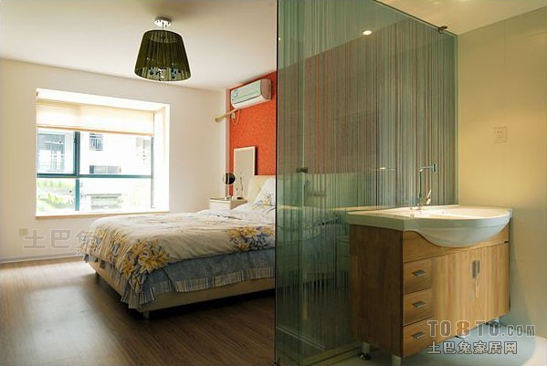 热门107平方三居卧室混搭装修设计效果图卧室潮流混搭卧室设计图片赏析