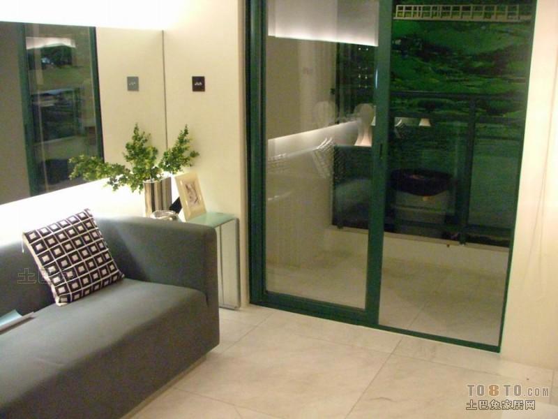 温馨80平混搭二居客厅实景图片客厅潮流混搭客厅设计图片赏析