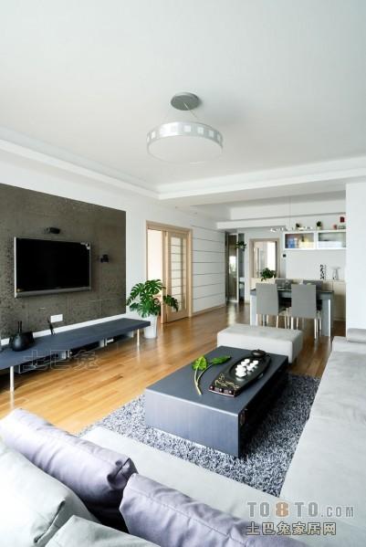 轻奢76平混搭三居客厅装饰美图客厅潮流混搭客厅设计图片赏析