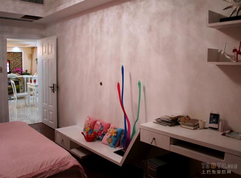 欧式现代卧室装修效果图 单张展示 万科紫台装修效果图 喻海鸥作品高清图片