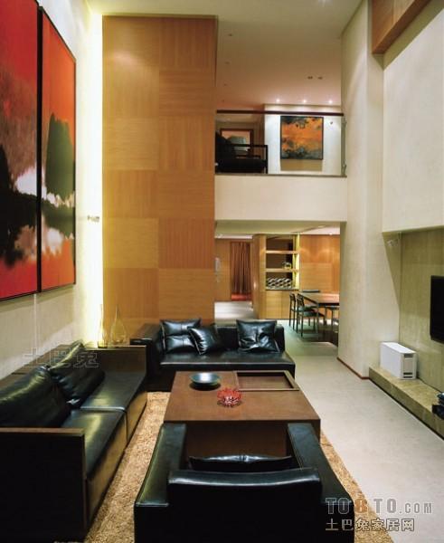 精美112平米混搭复式客厅装修设计效果图客厅潮流混搭客厅设计图片赏析