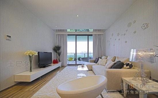精致50平混搭二居客厅设计效果图客厅潮流混搭客厅设计图片赏析