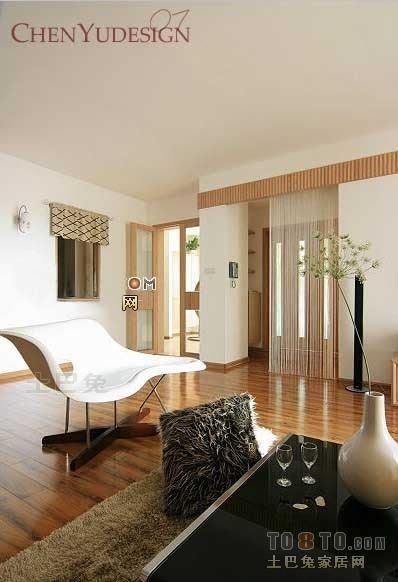精美85平混搭二居客厅装修效果图客厅潮流混搭客厅设计图片赏析