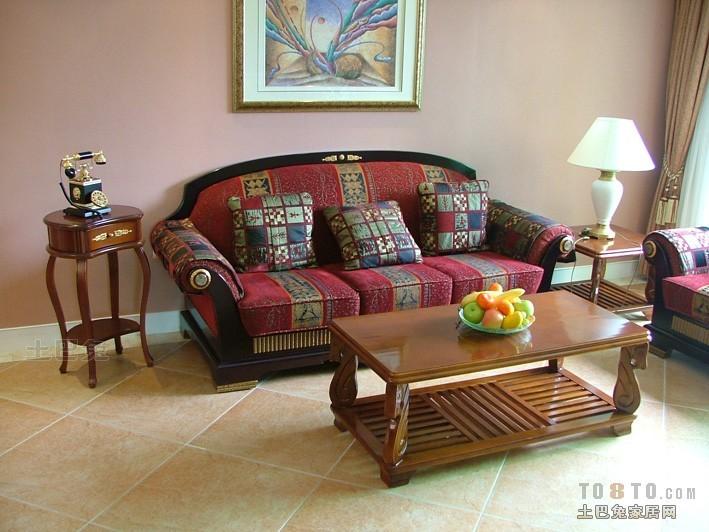 面积86平混搭二居客厅装修效果图片大全客厅潮流混搭客厅设计图片赏析