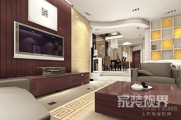 精美114平混搭四居客厅布置图客厅潮流混搭客厅设计图片赏析