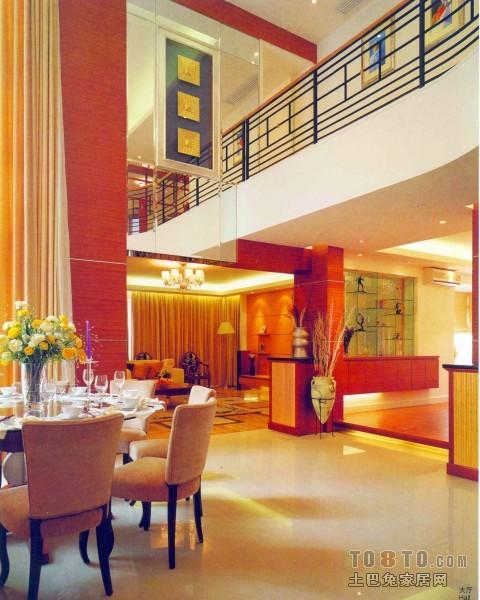 2018面积139平复式餐厅混搭装修实景图片大全厨房潮流混搭餐厅设计图片赏析