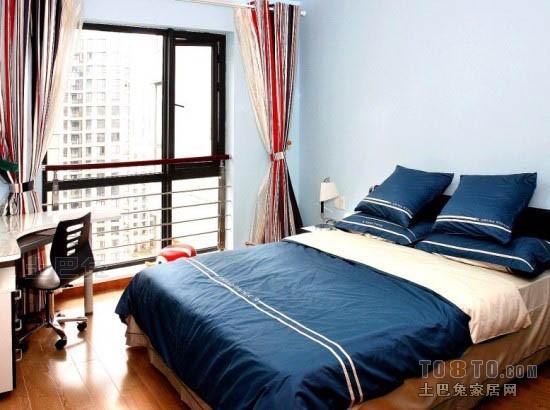 精致78平混搭二居卧室图片欣赏卧室潮流混搭卧室设计图片赏析