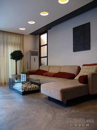 精致59平混搭二居客厅装修案例客厅潮流混搭客厅设计图片赏析