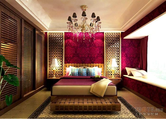 欧式古典卧室效果图卧室潮流混搭卧室设计图片赏析