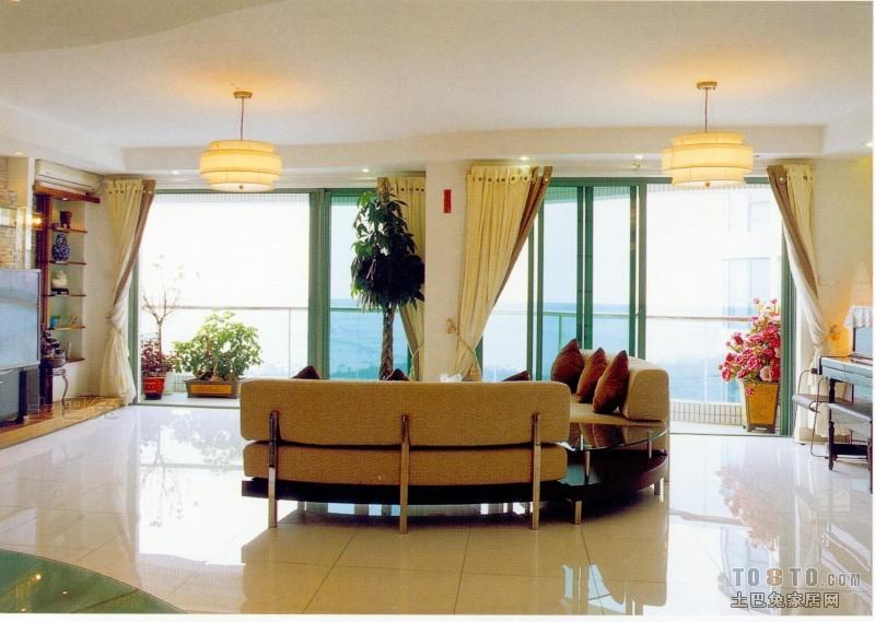 混搭3室效果图片大全102平客厅潮流混搭客厅设计图片赏析