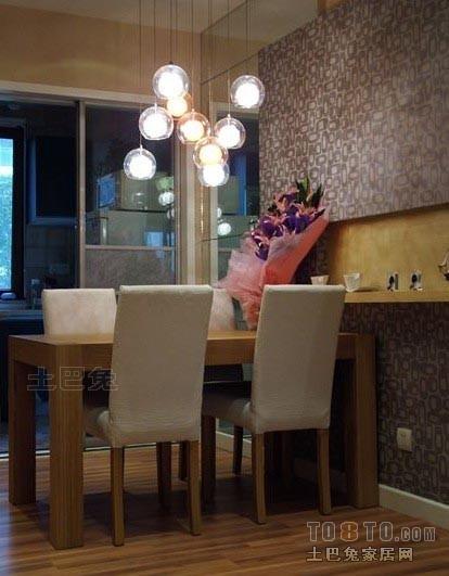 精选72平米二居餐厅混搭设计效果图潮流混搭设计图片赏析