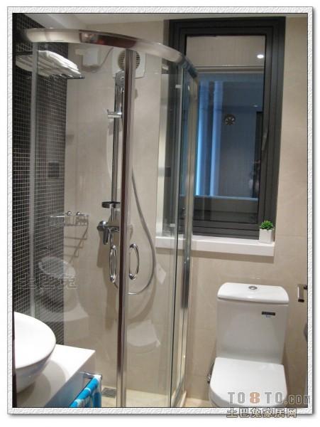 2018精选面积102平混搭三居卫生间装修实景图片欣赏卫生间潮流混搭卫生间设计图片赏析