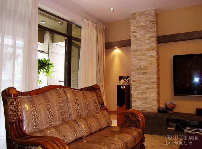 精美93平米三居客厅混搭装修欣赏图客厅潮流混搭客厅设计图片赏析